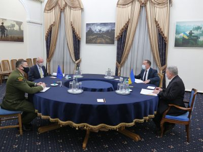 Міноборони розглядає можливості залучення до проєктів Програми структурованого співробітництва ЄС (PESCO) – Андрій Таран