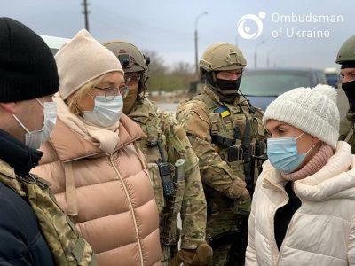 Людмила Денісова зустрілася з представником «ДНР»: говорили про звільнення військовополонених і засуджених осіб