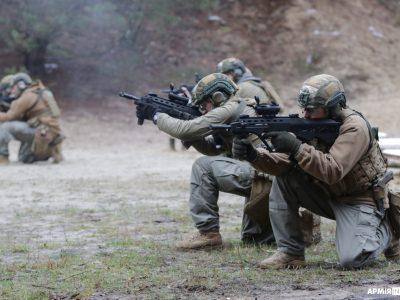 У Центрі спецпризначення відбулися комплексні заняття з бойової підготовки