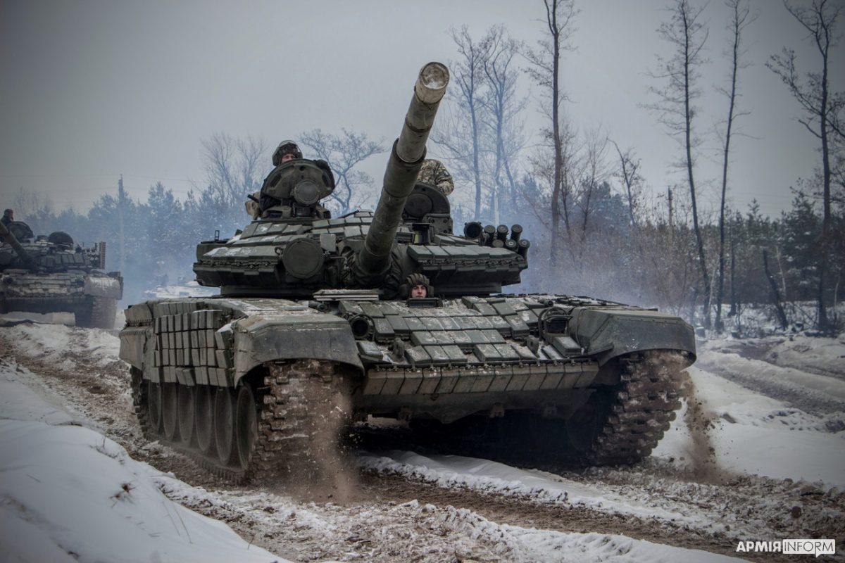 Танковий резерв Об'єднаних сил готовий до будь-яких активних дій з боку ворога