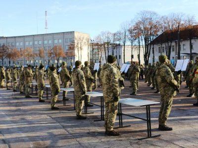 В Чернігові 195 юнаків присягнули на вірність українському народові