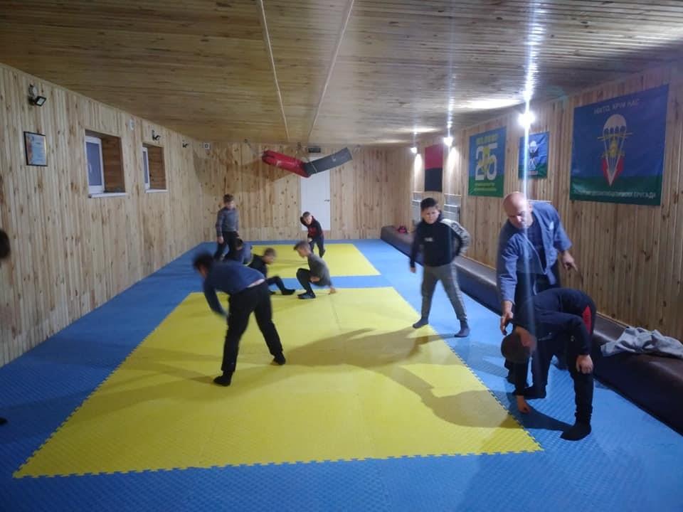 На Кіровоградщині ветерани АТО створили дитячий спортивний клуб