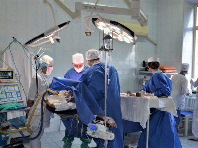 На рахунку військових медиків за рік – 95831 оперативне втручання