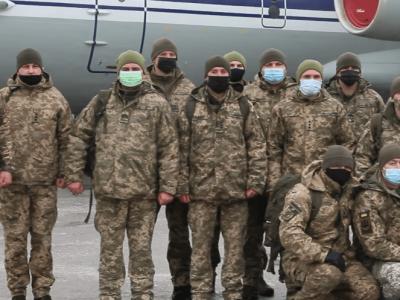 До Косова вилетіла чергова ротація українських миротворців – кожен має досвід служби в АТО/ООС