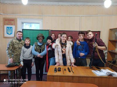 На Сумщині ветерани продовжують військово-патріотичне виховання серед школярів