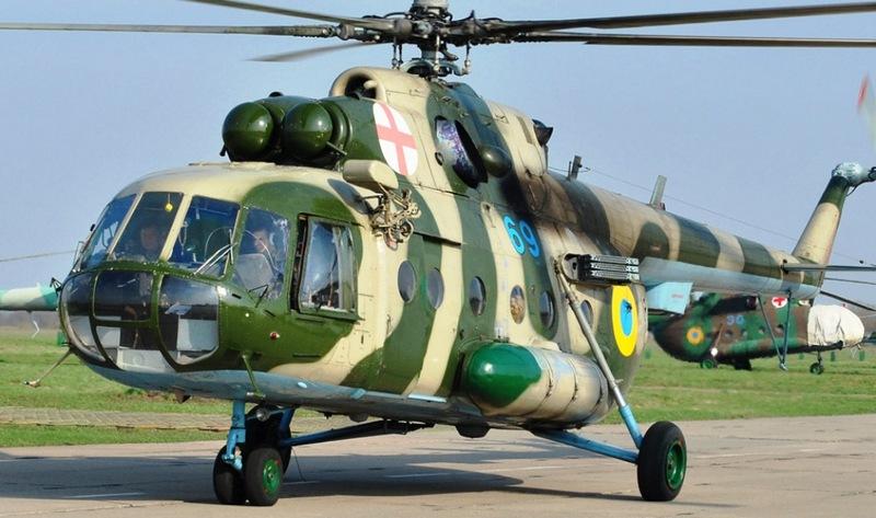 Українська компанія «Мотор Січ» проведе капітальний ремонт і модернізацію грузинських військових вертольотів Мі-8