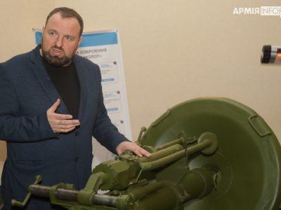 Завод «Маяк» презентував оновлений міномет «Молот» та унікальні боєприпаси