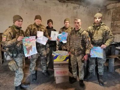 Школярам із Херсонщини передали щиру подяку від воїнів з передової