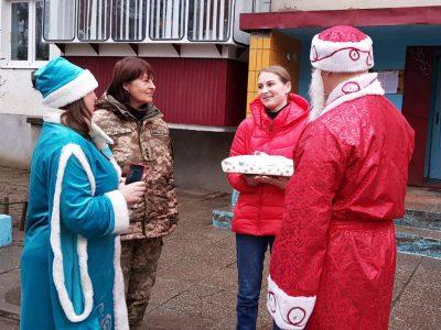 У місті Гайсин родини загиблих у АТО/ООС військовослужбовців отримали новорічні подарунки
