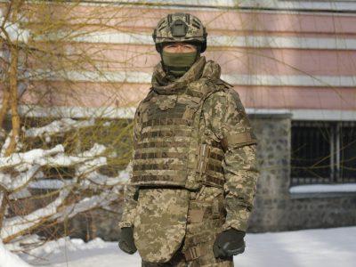 Уперше в Україні розроблено бронежилет за стандартами НАТО