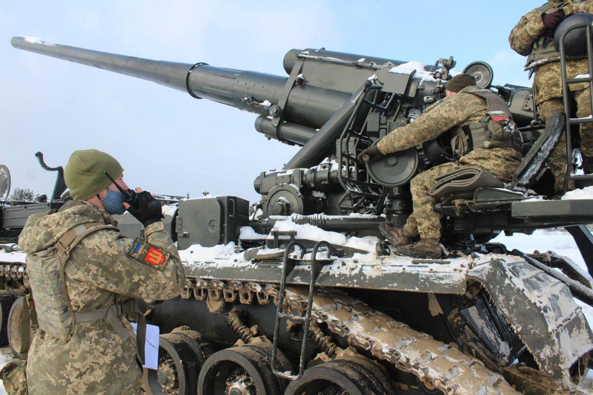На Київщині гармаші на «Піонах» здійснили марш до району зосередження