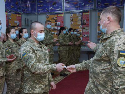 Найкращі курсанти-авіатори прийняли Кодекс сержанта ЗСУ