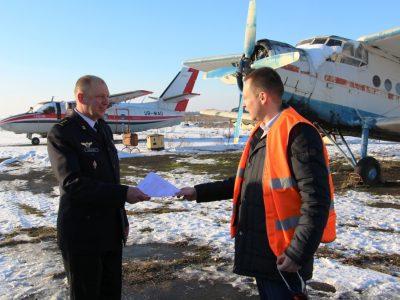 У Рівному морські авіатори отримали в подарунок літак Ан-2