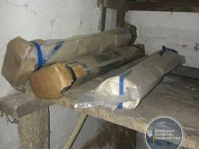 У прифронтовому Торецьку виявлено потужний схрон боєприпасів