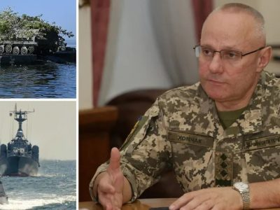 Головнокомандувач ЗСУ Хомчак: спочатку Росія повинна відповісти за всі злочини