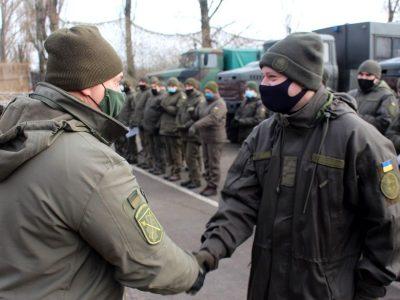 На Донеччині відзнаки від Командувача ООС отримали гвардійці