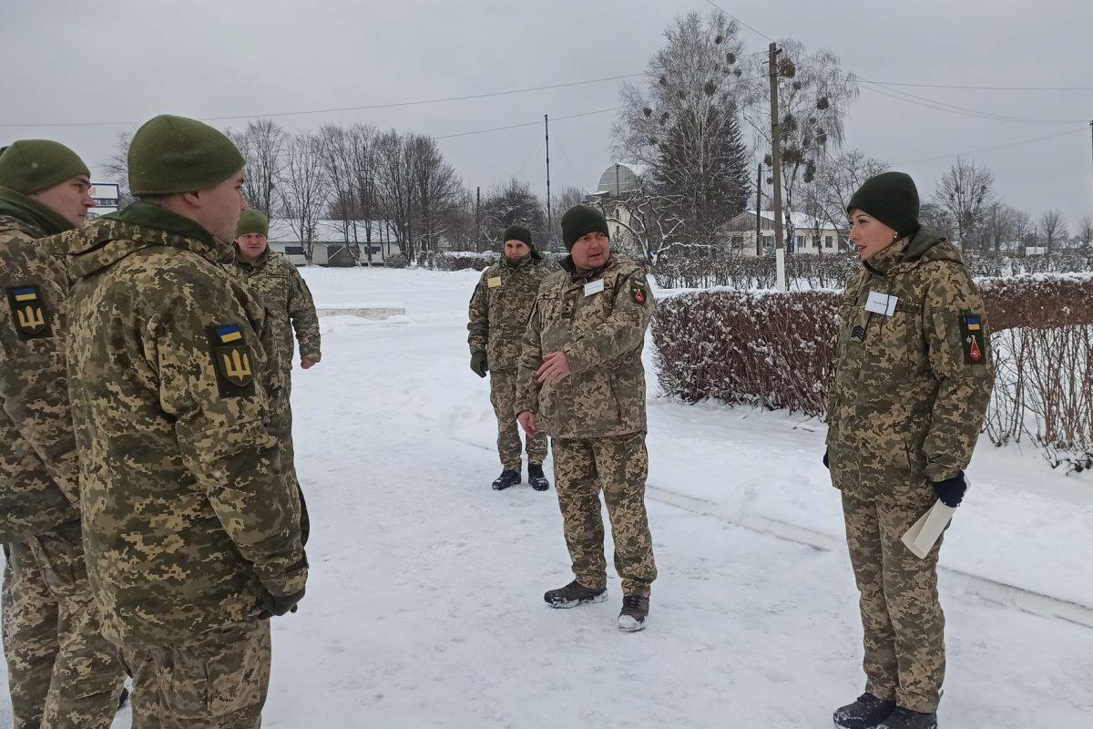Топографів Сил підтримки ЗС України підняли за бойовою тривогою