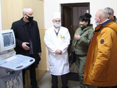Рівненський військовий госпіталь за сприяння Міноборони отримав медичне обладнання та витратні матеріали іноземного виробництва