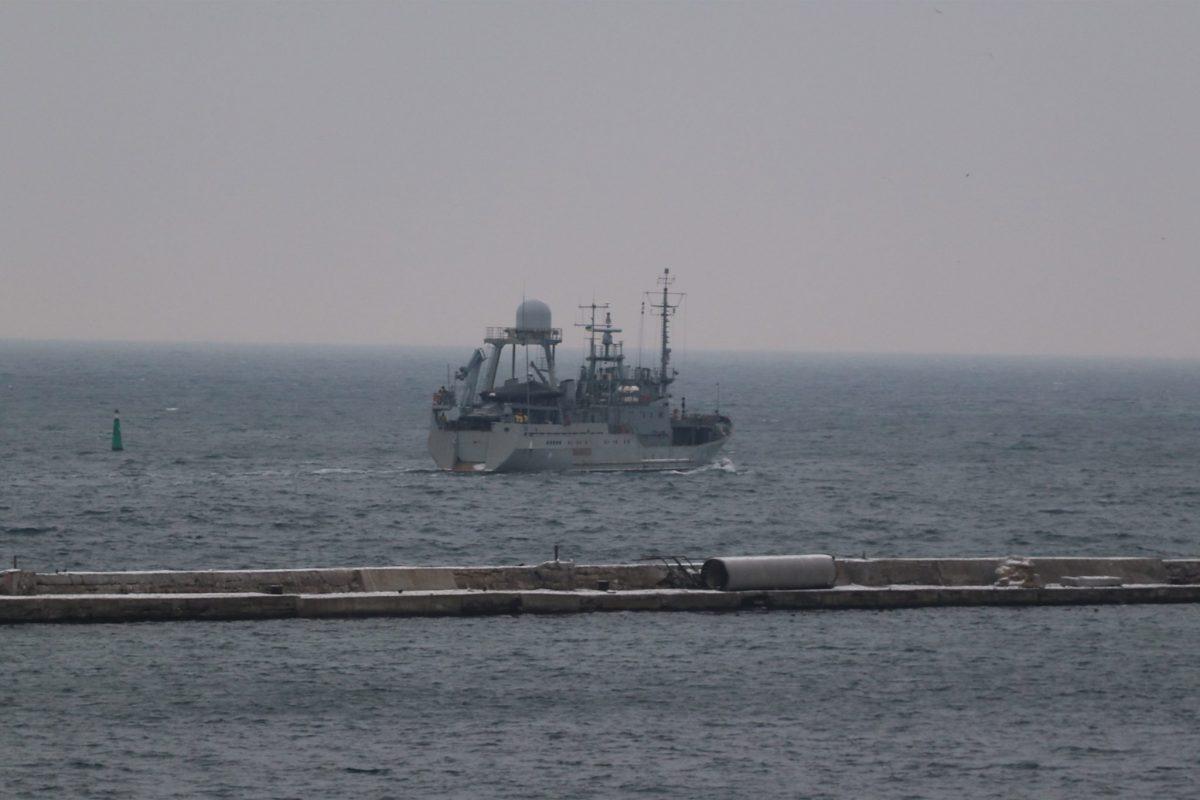 У Чорному морі тривають випробування корабля спеціального призначення проєкту «Лагуна»