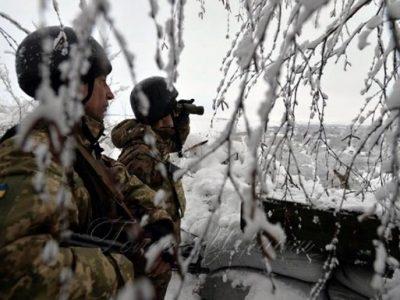 Доба в ООС: сім порушень режиму «тиші», один військовослужбовець загинув