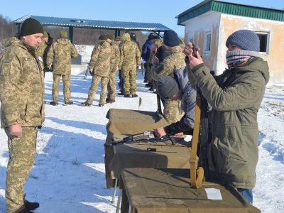 За стандартами НАТО розпочали готувати підрозділи тероборони на Тернопільщині