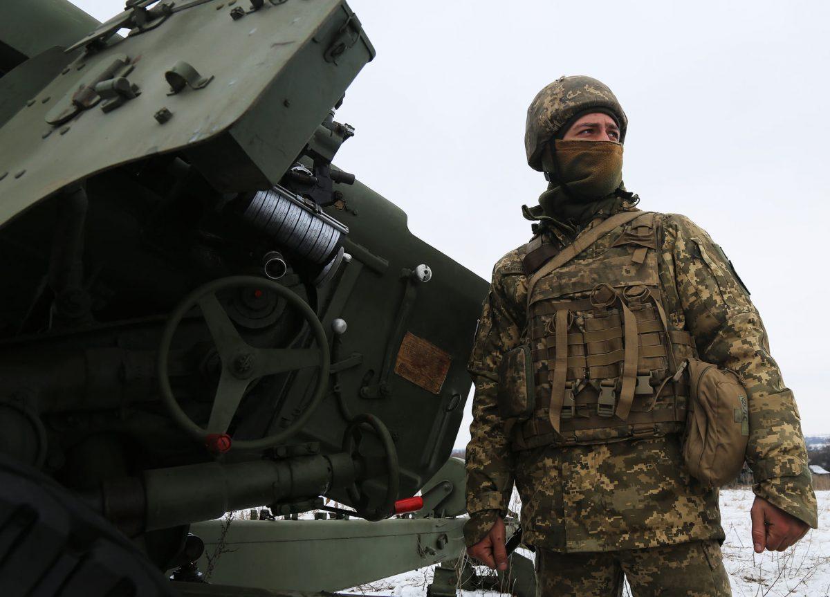 Артилеристи бригадних артилерійських груп відточують свою майстерність у районах відведення ООС