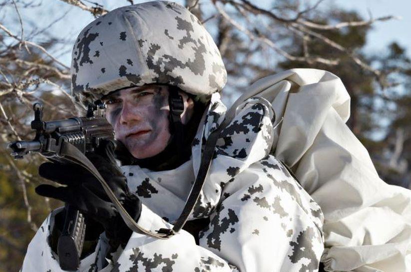 Зимовий камуфляж у різних арміях світу