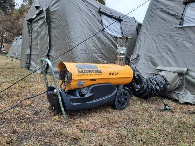 Для війська придбали вогнезахисні комбінезони, покращені сорочки-поло, сучасні пневмокаркасні модульні намети…