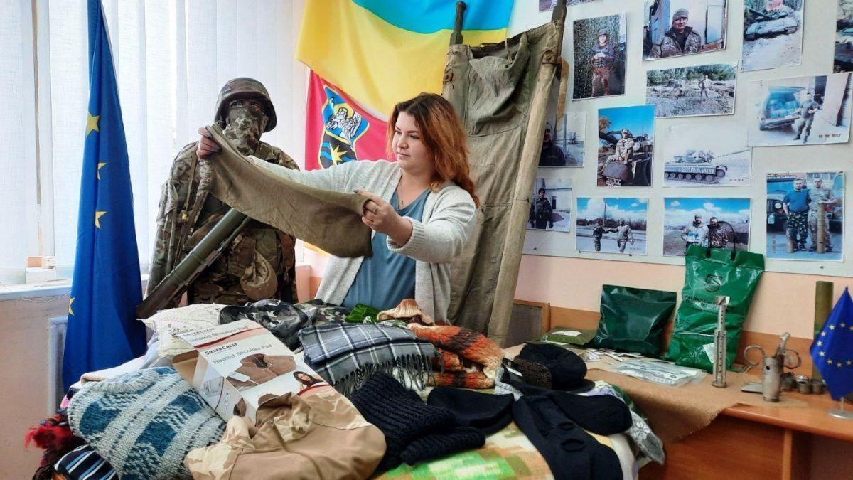 «Подаруй тепло солдату» — стартувала акція на підтримку воїнів
