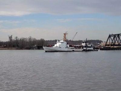 У США здійснив контрольний вихід в море патрульний катеру типу «ISLAND» ВМС ЗС України