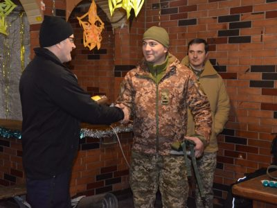 Латвійські капелани відвідали район проведення ООС