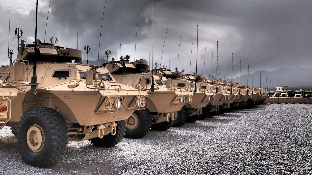 США передадуть грекам 1200 бронетранспортерів M1117