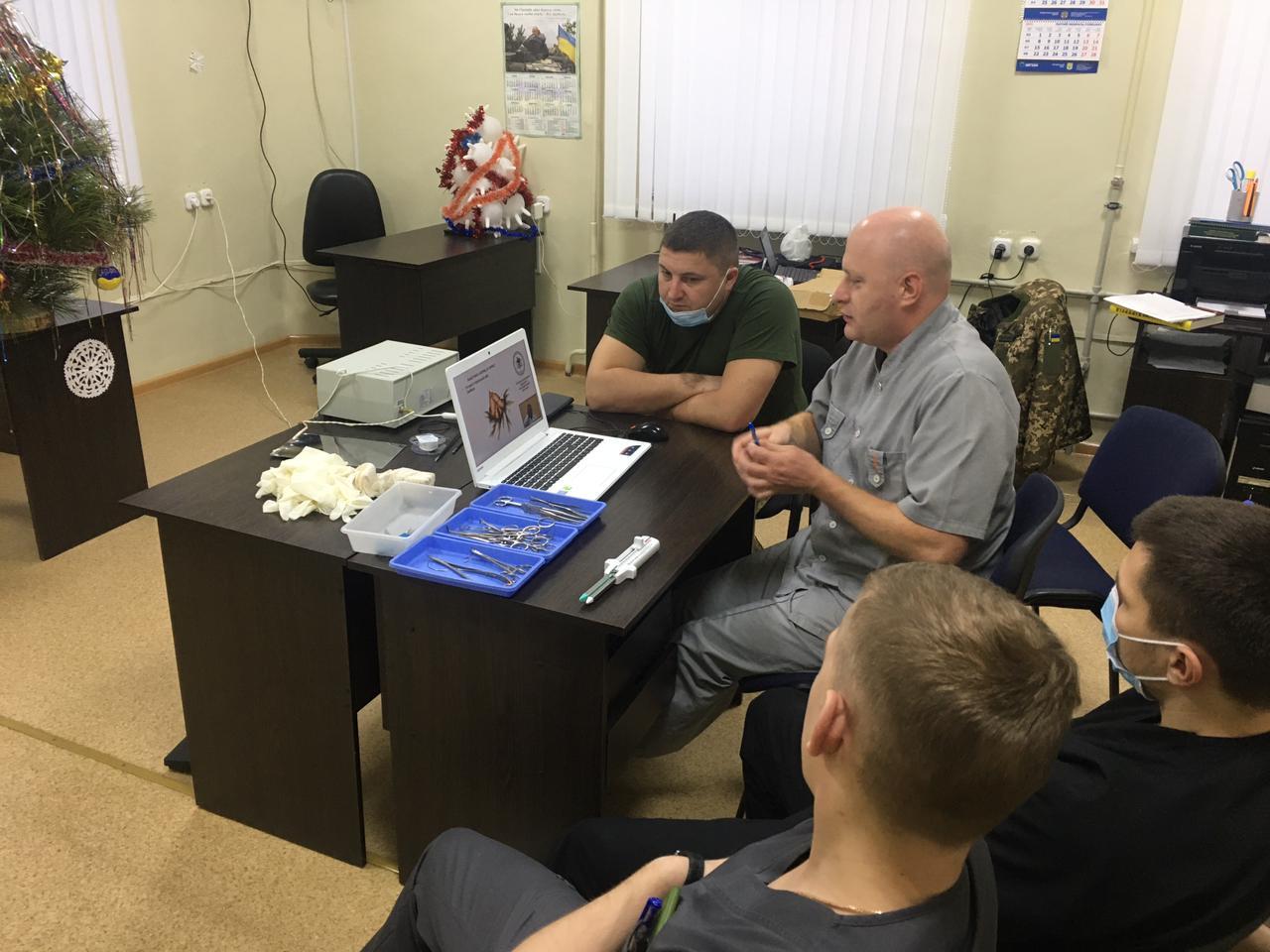 У Сєвєродонецьку провели спеціальні медичні заняття