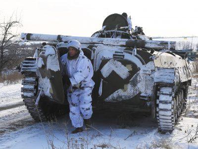 Підрозділи мотопіхотної бригади в ООС тренуються знищувати ворога
