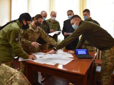 Військовослужбовців ОК «Північ» навчають психологічній роботі з особовим складом за стандартами НАТО