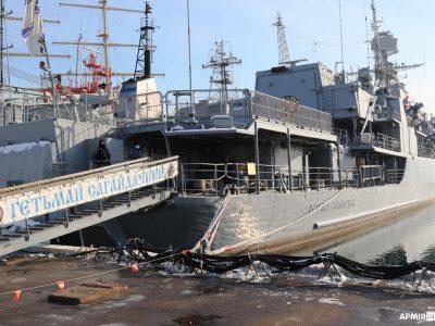 На кораблях, катерах та суднах флотилії ВМС ЗС України відпрацьовують заходи з підвищення рівня бойової готовності