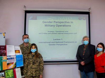 За участю радників НАТО в Національному університеті оборони України відбувся тренінг щодо впровадження принципу гендерної рівності
