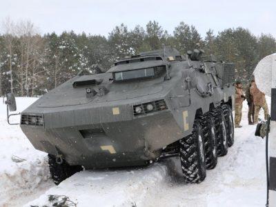 Військові протестували «Отаман» та БТР-60М від НВО «Практика» під час кількаденних екстремальних випробувань