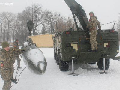 Воїни-ракетники проходять базову фахову підготовку