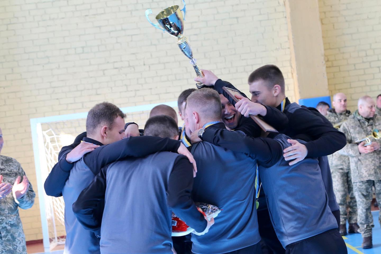 Визначено переможця чемпіонату Сухопутних військ з футзалу