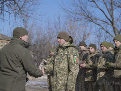 В районі проведення операції Об'єднаних сил нагородили морпіхів