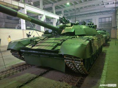 «Київський бронетанковий завод» передав ЗС України п'ять відремонтованих Т-72