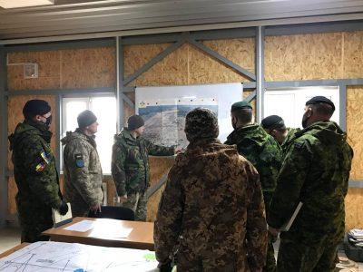 169-й Навчальний центр імені князя Ярослава Мудрого розширює співпрацю із представниками операції UNIFIER ЗС Канади