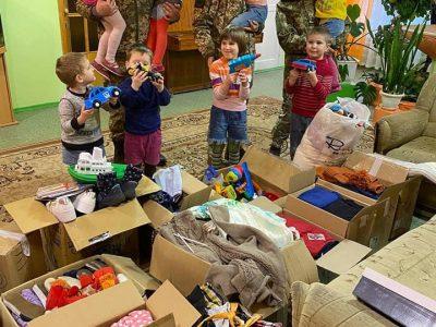 Офіцери Об'єднаного центру цивільно-військового співробітництва «Маріуполь» відвідали міський дитячий будинок