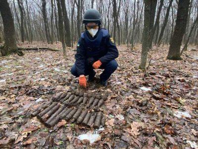 Розмінування Донбасу: за тиждень знешкоджено майже 900 боєприпасів