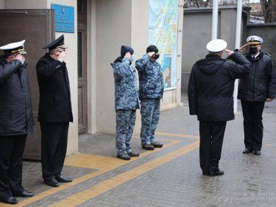 В Одесі командувач національного флоту представив тимчасового виконувача обов'язків начальника Інституту ВМС