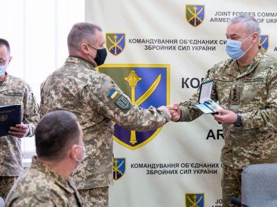 У Командуванні об'єднаних сил ЗСУ нагородили воїнів-«афганців»