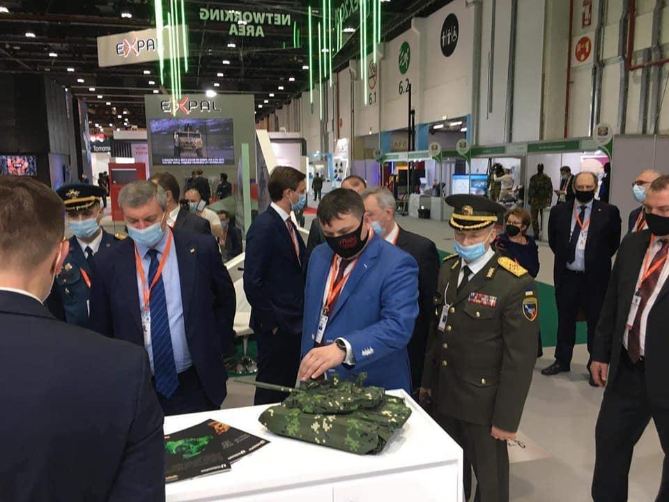 Командувач Сухопутних військ ЗС України прибув з робочим візитом до Об'єднаних Арабських Еміратів
