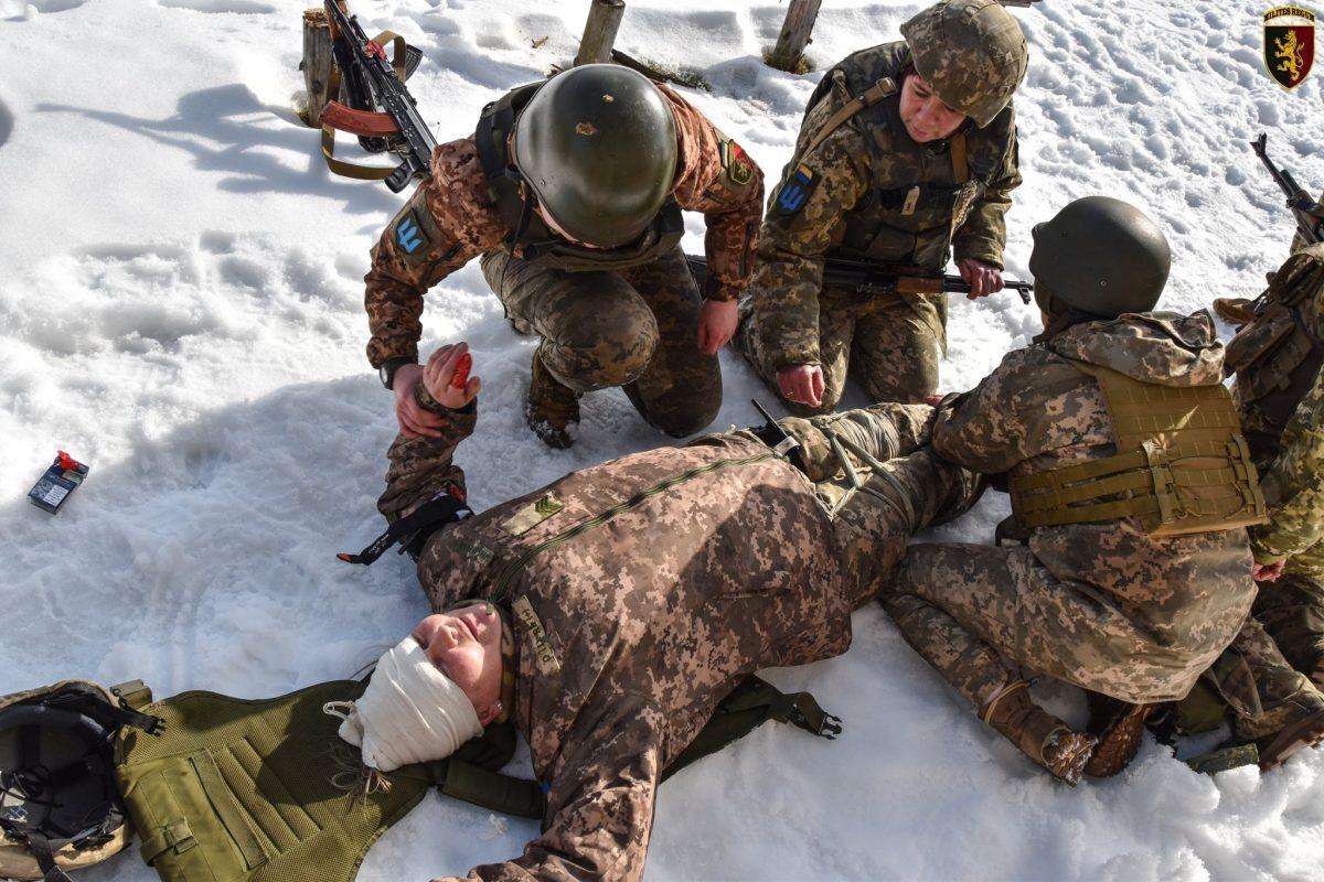 Воїни бригади імені короля Данила пройшли курс навчань з тактичної медицини