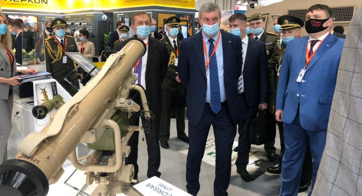 Яке озброєння презентувала Україна в Абу-Дабі